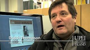 """Reg """"Dutch"""" Thompson Oral History Collection"""